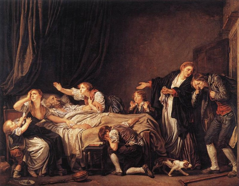 The Punished Son. Jean-Baptiste Greuze