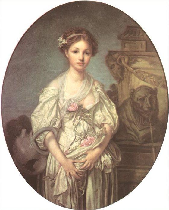 La cruche cassee. Jean-Baptiste Greuze