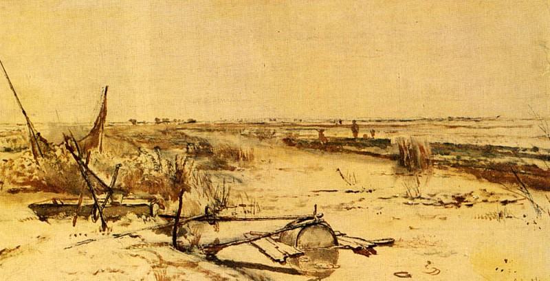A View Of The Kamper Veenderij. Paul Joseph Constantine Gabriel