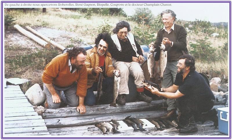 Рене Ганьон с друзьями (фото). Рене Ганьон