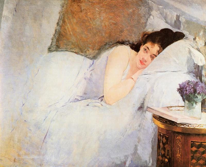 Пробуждение девушки. Ева Гонсалес