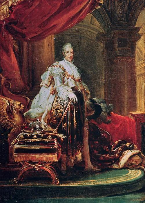 Charles X (1757-1836). Francois Pascal Simon Gerard