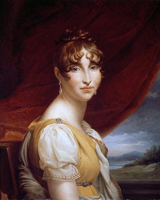 Hortense de Beauharnais (1783-1837). Francois Pascal Simon Gerard