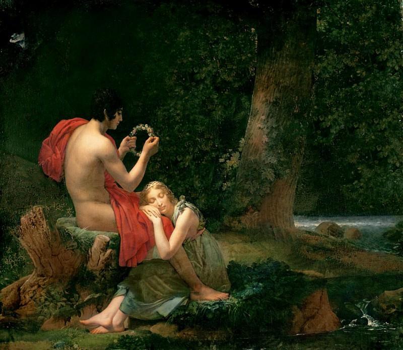 Daphnis and Chloe. Francois Pascal Simon Gerard