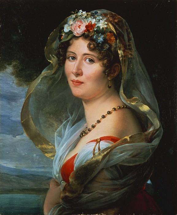 Portrait of Constance Ossolinska Lubienska. Francois Pascal Simon Gerard