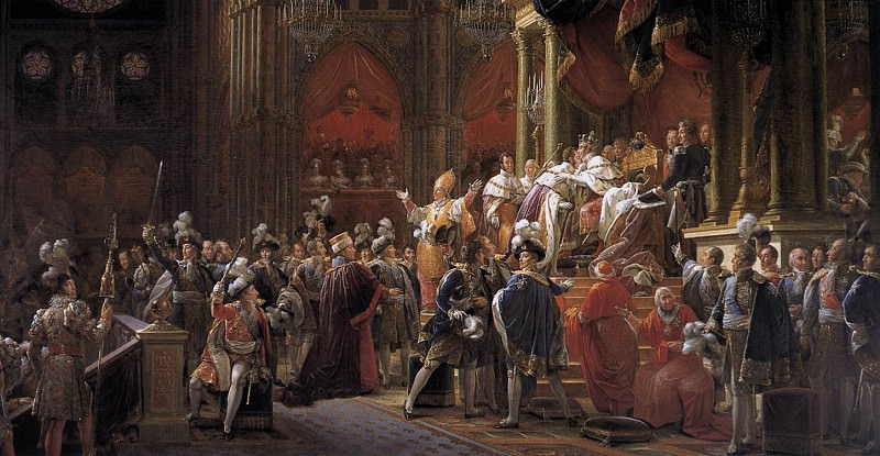 Коронации Карла X. Франсуа Паскаль Симон Жерар