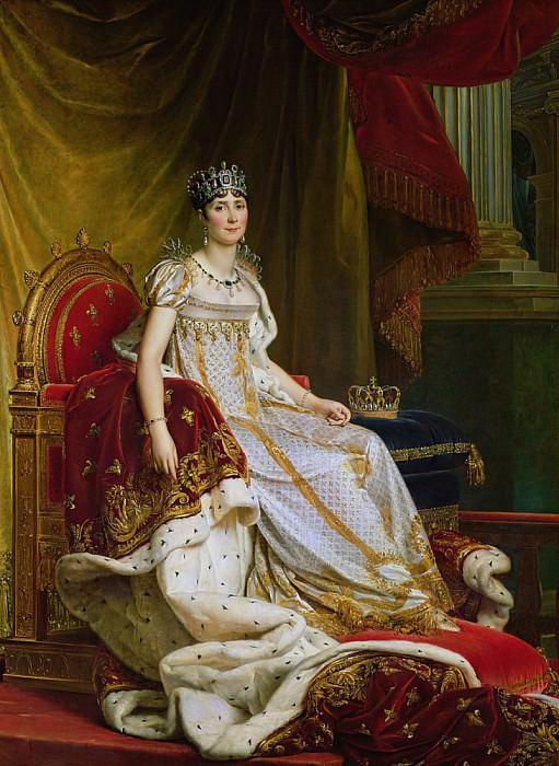 Императрица Жозефина (1763-1814). Франсуа Паскаль Симон Жерар