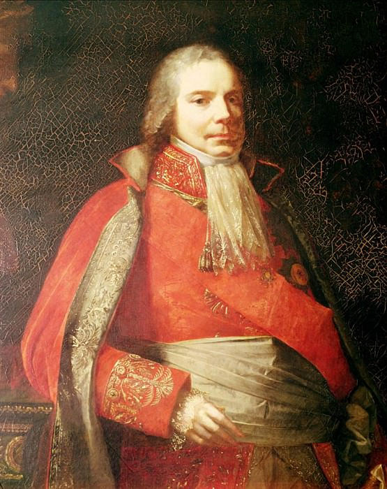 Portrait of Charles Maurice de Talleyrand-Perigord (1754-1838). Francois Pascal Simon Gerard