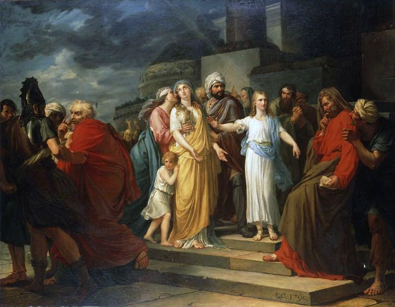 Daniel proving Susannas Innocence. Francois Pascal Simon Gerard