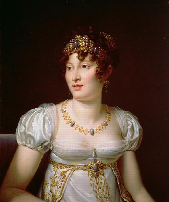Portrait of Caroline Murat. Francois Pascal Simon Gerard