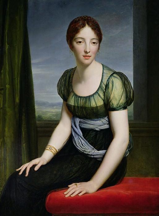 Мадам Реньо де Сен-Жан д'Анжели (1775-1857). Франсуа Паскаль Симон Жерар