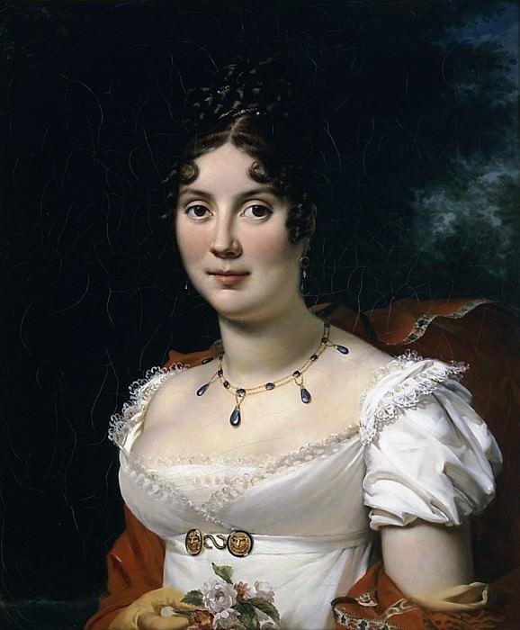 Портрет женщины. Франсуа Паскаль Симон Жерар
