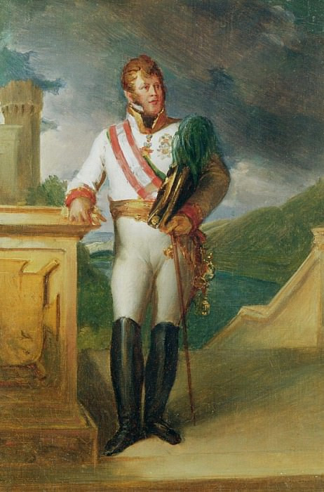 Charles-Philippe (1771-1820) Prince of Schwartzenberg. Francois Pascal Simon Gerard