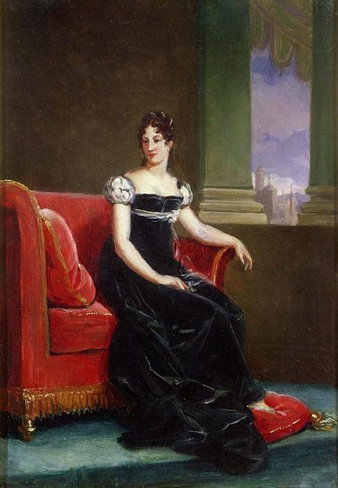 Desiree Clary (1777-1860) Queen of Sweden. Francois Pascal Simon Gerard