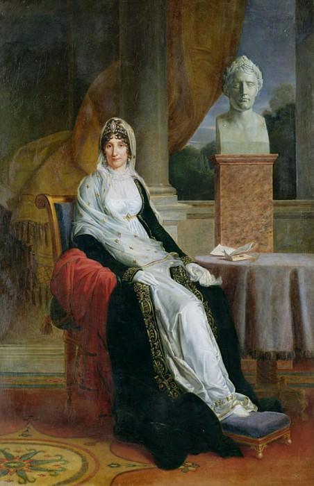 Мари-Летиция Рамолино (1750-1836). Франсуа Паскаль Симон Жерар