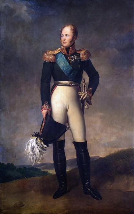 Alexander I. Francois Pascal Simon Gerard