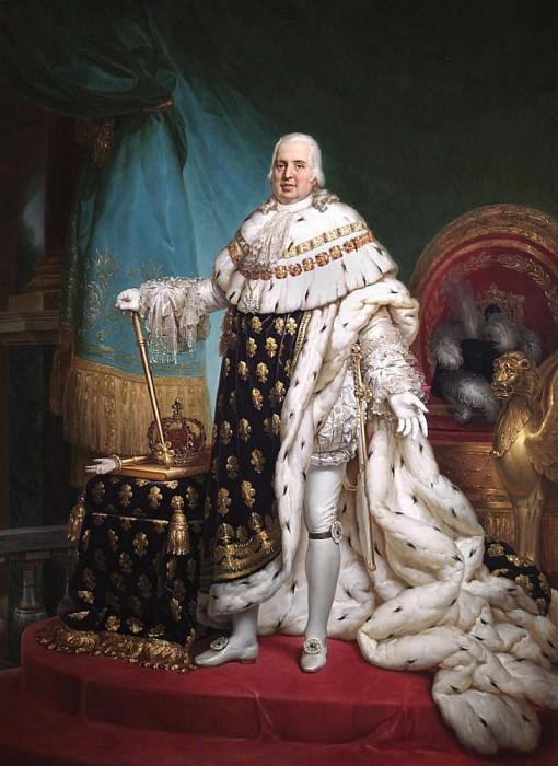 Людовик XVIII. Франсуа Паскаль Симон Жерар