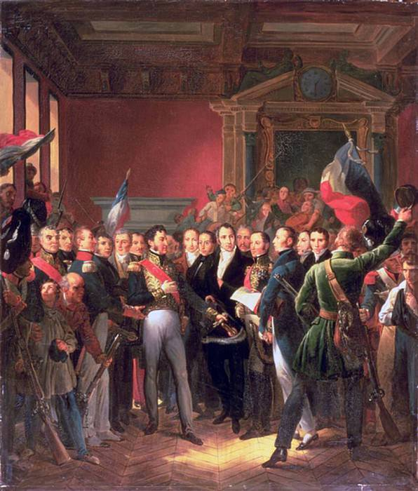 The Reading of the Declaration of Deputies. Francois Pascal Simon Gerard