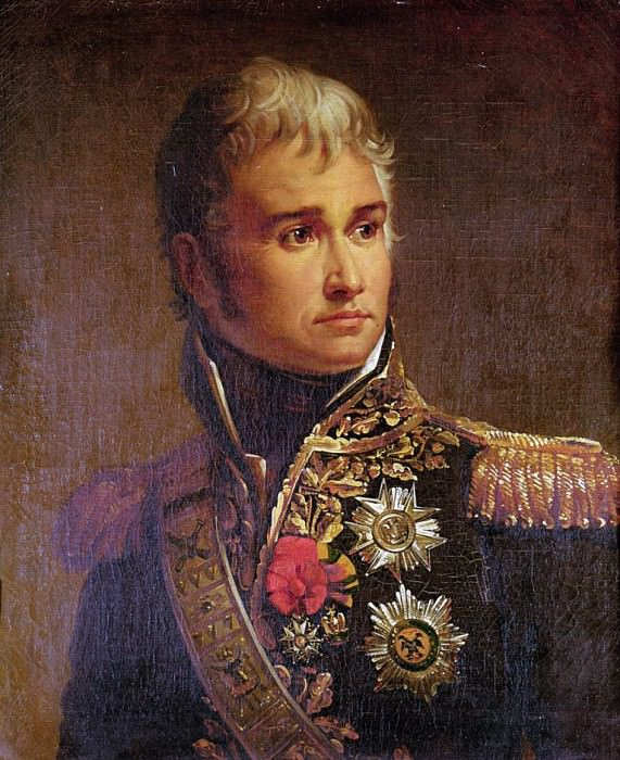 Portrait of Jean Lannes (1769-1809) Duke of Montebello. Francois Pascal Simon Gerard