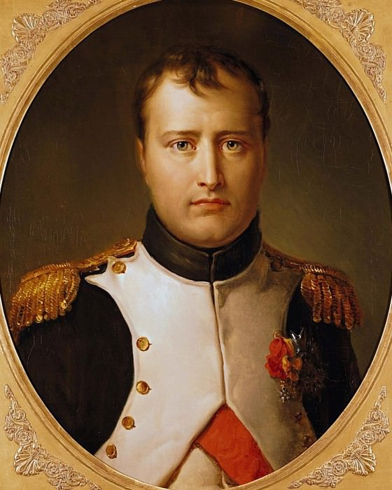 Portrait of Napoleon (1769-1821) in Uniform. Francois Pascal Simon Gerard