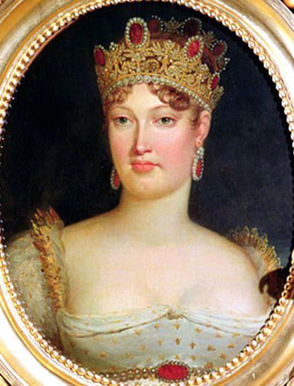 Portrait of Empress Marie-Louise (1791-1847) of Austria. Francois Pascal Simon Gerard