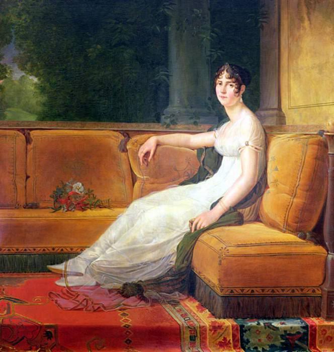 Empress Josephine (1763-1814) at Malmaison. Francois Pascal Simon Gerard