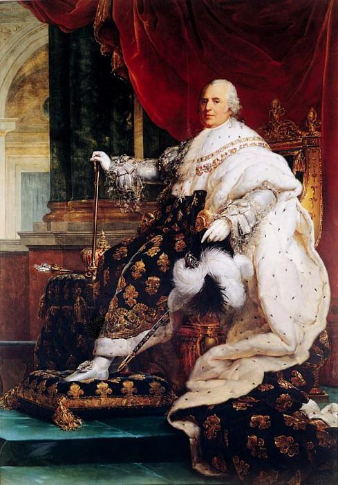 Louis XVIII (1755-1824). Francois Pascal Simon Gerard
