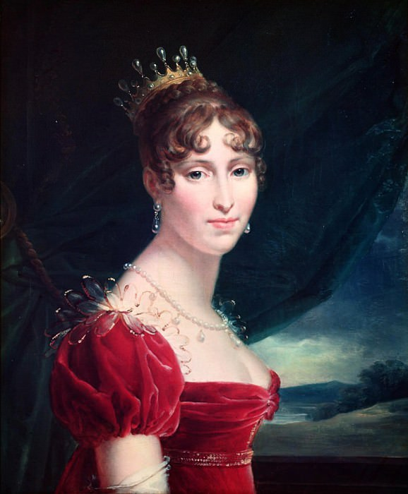 Hortense de Beauharnais. Francois Pascal Simon Gerard
