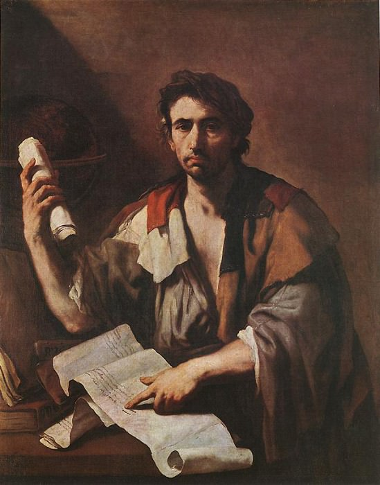 A Cynical Philospher. Luca Giordano