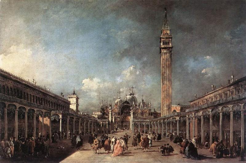 Piazza di San Marco. Francesco Guardi