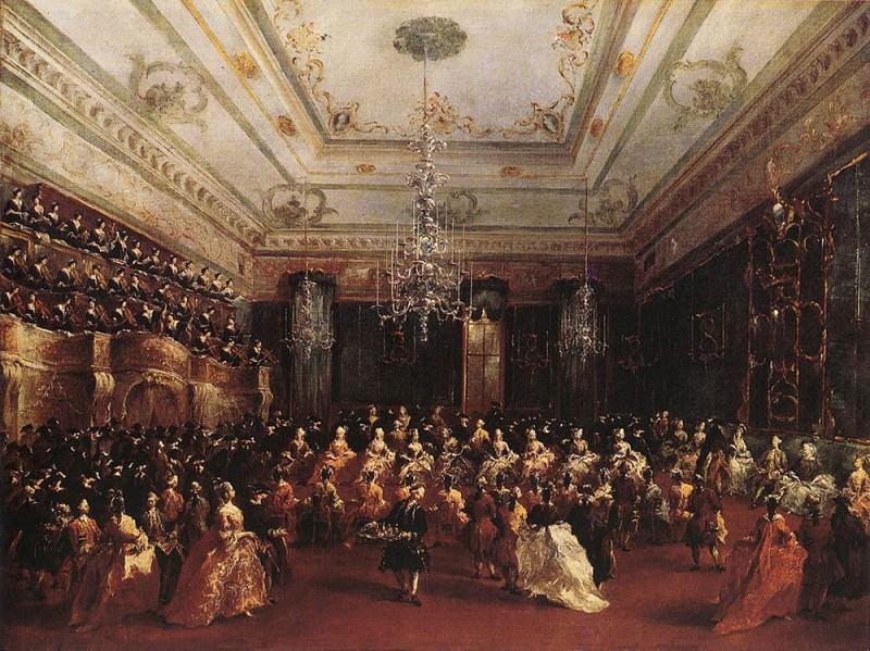 Ladies Concert at the Philharmonic Hall. Francesco Guardi