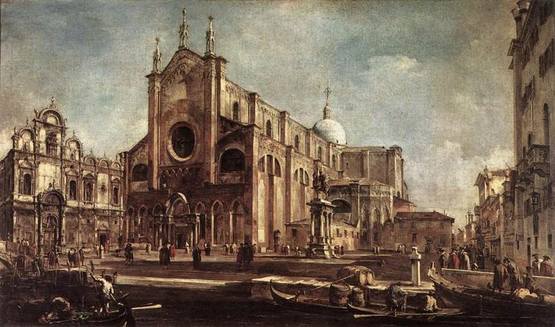 Церковь Санти Джованни э Паоло. Франческо Гварди