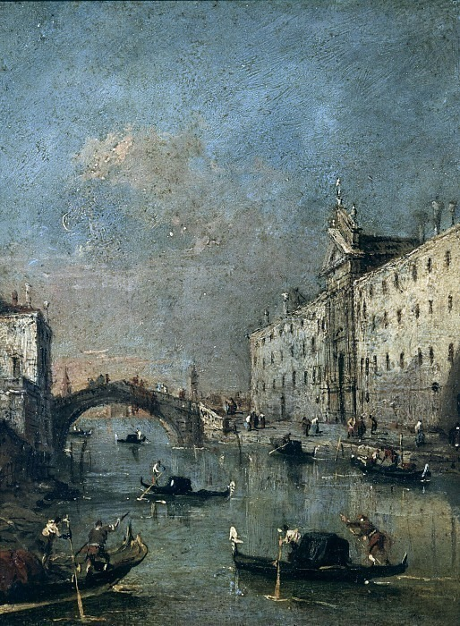 Канал Рио де Мендиканте. Франческо Гварди