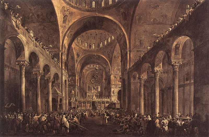 Дож Альвизе IV Мочениго. Франческо Гварди