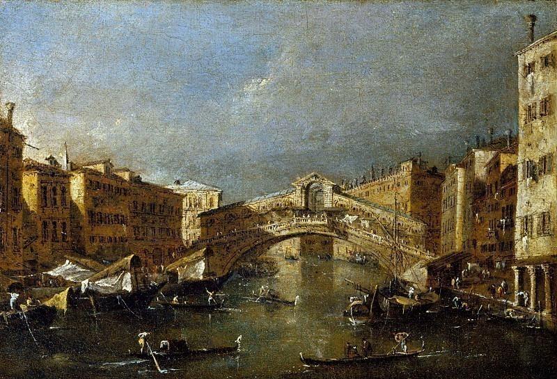 Мост Риальто. Франческо Гварди