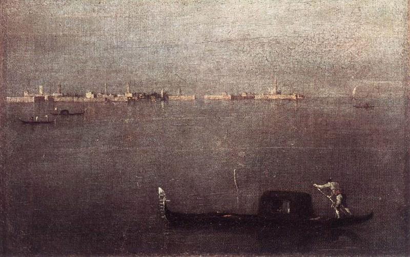Gondola. Francesco Guardi