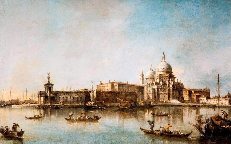 Венеция - Санта-Мария-делле-Салюте и Догма. Франческо Гварди