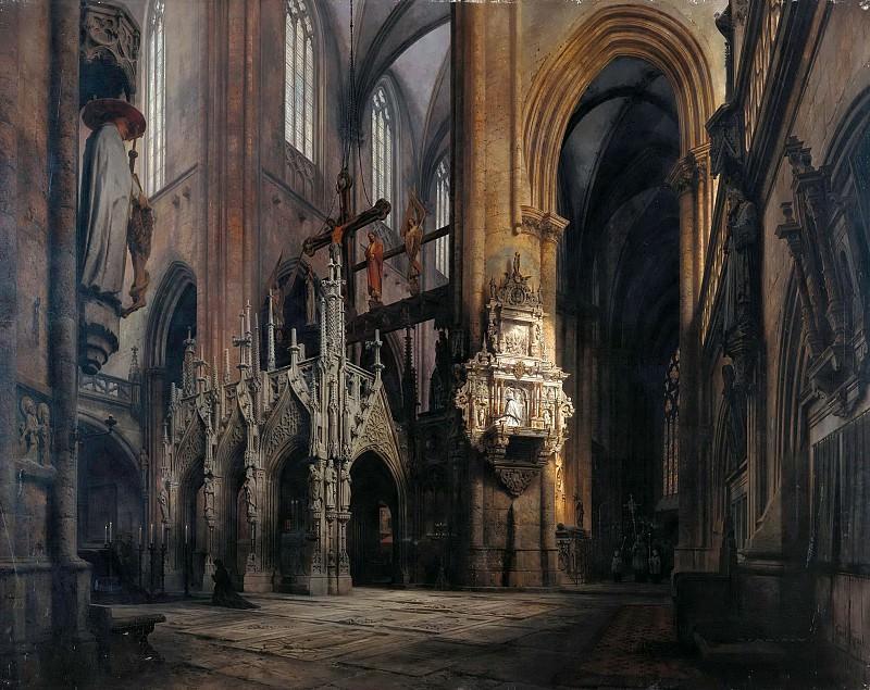 In Halberstadt Cathedral. Carl Graeb