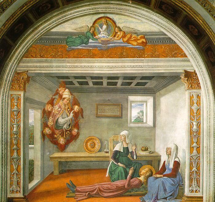 ghirlandaio3. Domenico Ghirlandaio