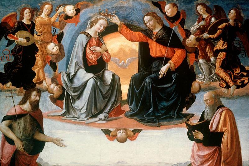 The Coronation of the Virgin, Domenico Ghirlandaio - 1600x12. Domenico Ghirlandaio