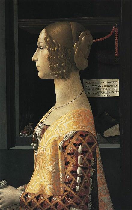 Portrait Of Giovanna Tornabuoni. Domenico Ghirlandaio