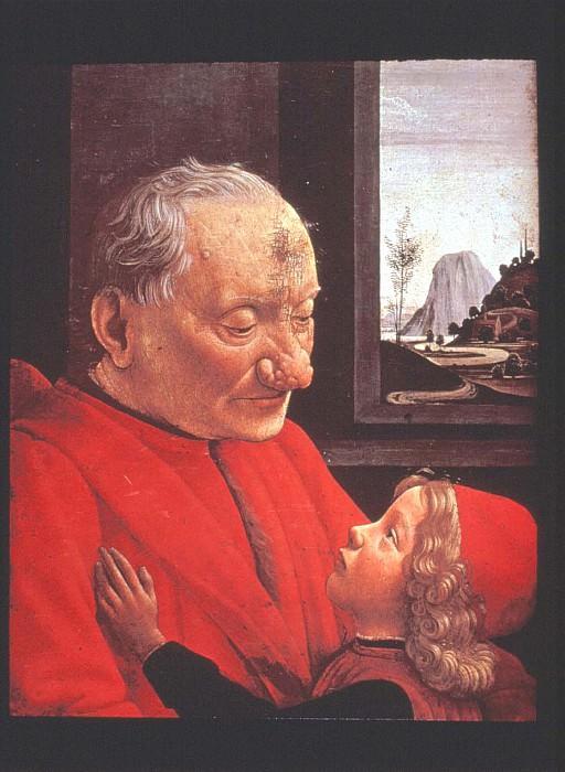Портрет старика с внуком, 1480-е. Доменико Гирландайо