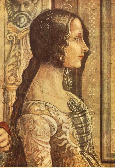 LUDOVICA TORNABUONI CAPPELLA TORNABUONI SMARI. Domenico Ghirlandaio