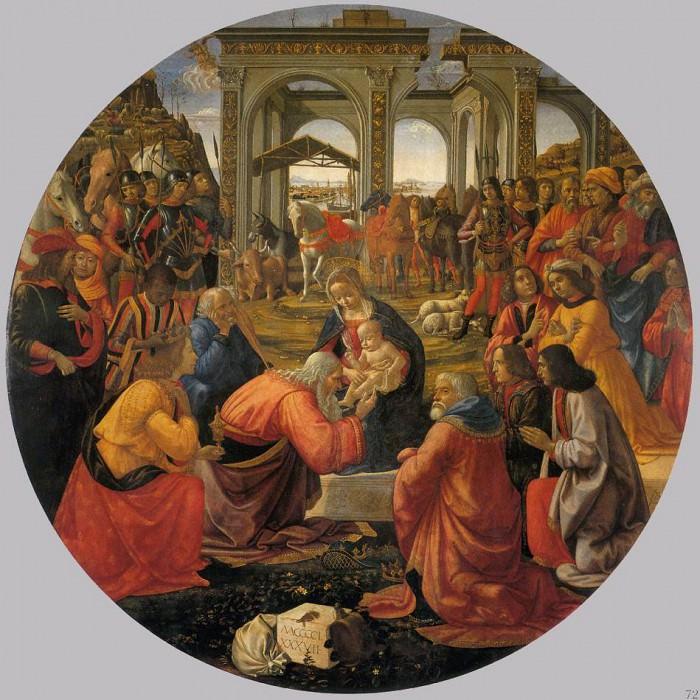 Adoration Of The Magi 1487. Domenico Ghirlandaio