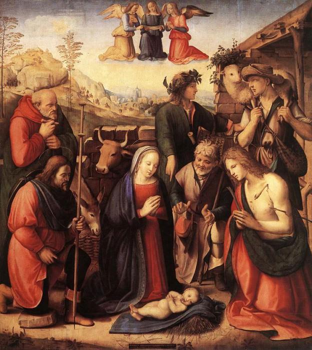 adorati. Domenico Ghirlandaio