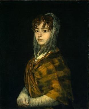 Senora Sabasa Garcia. Francisco Jose De Goya y Lucientes