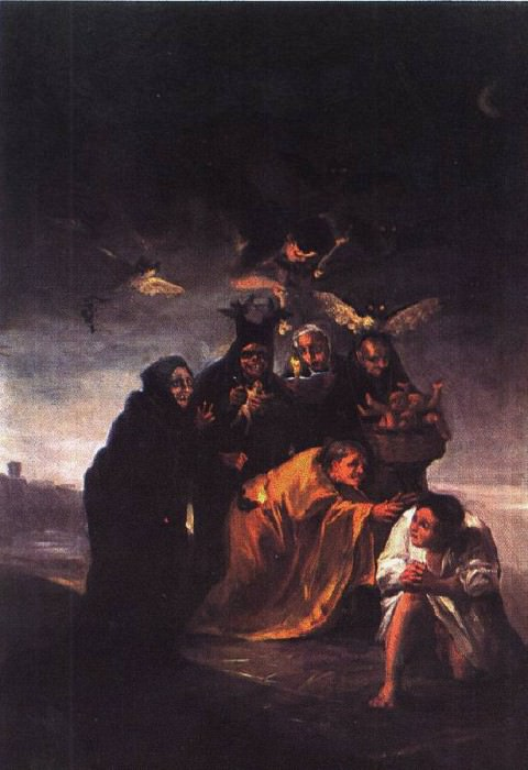 incantation. Francisco Jose De Goya y Lucientes