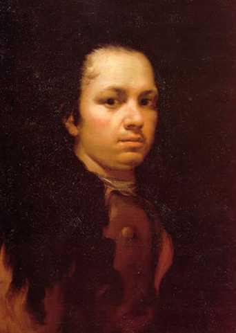 Autorretrato II. Francisco Jose De Goya y Lucientes