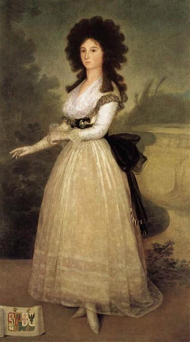 Dona Tadea Arias de Enriquez. Francisco Jose De Goya y Lucientes