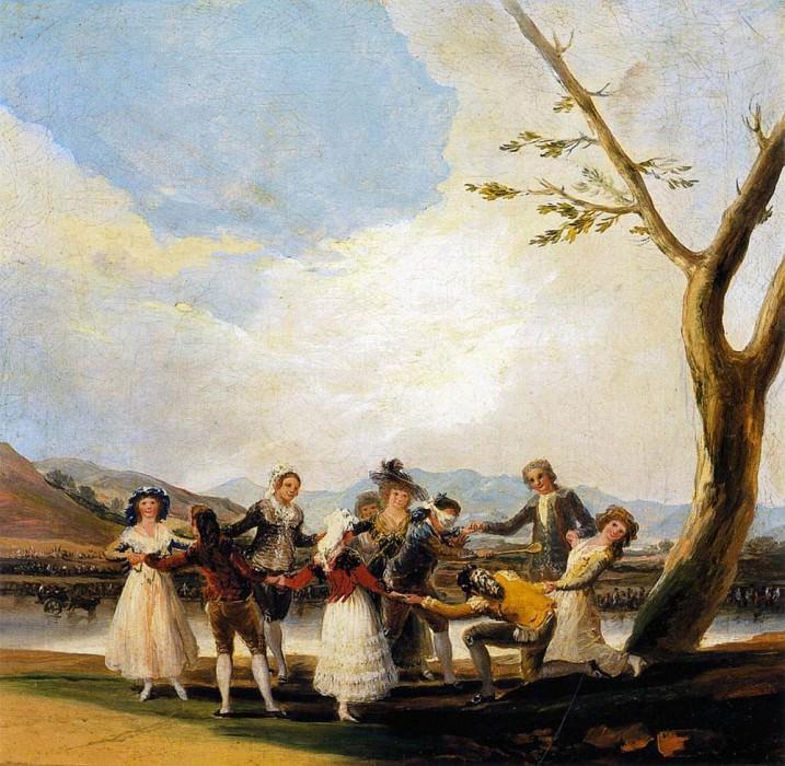 Blind Mans Buff. Francisco Jose De Goya y Lucientes